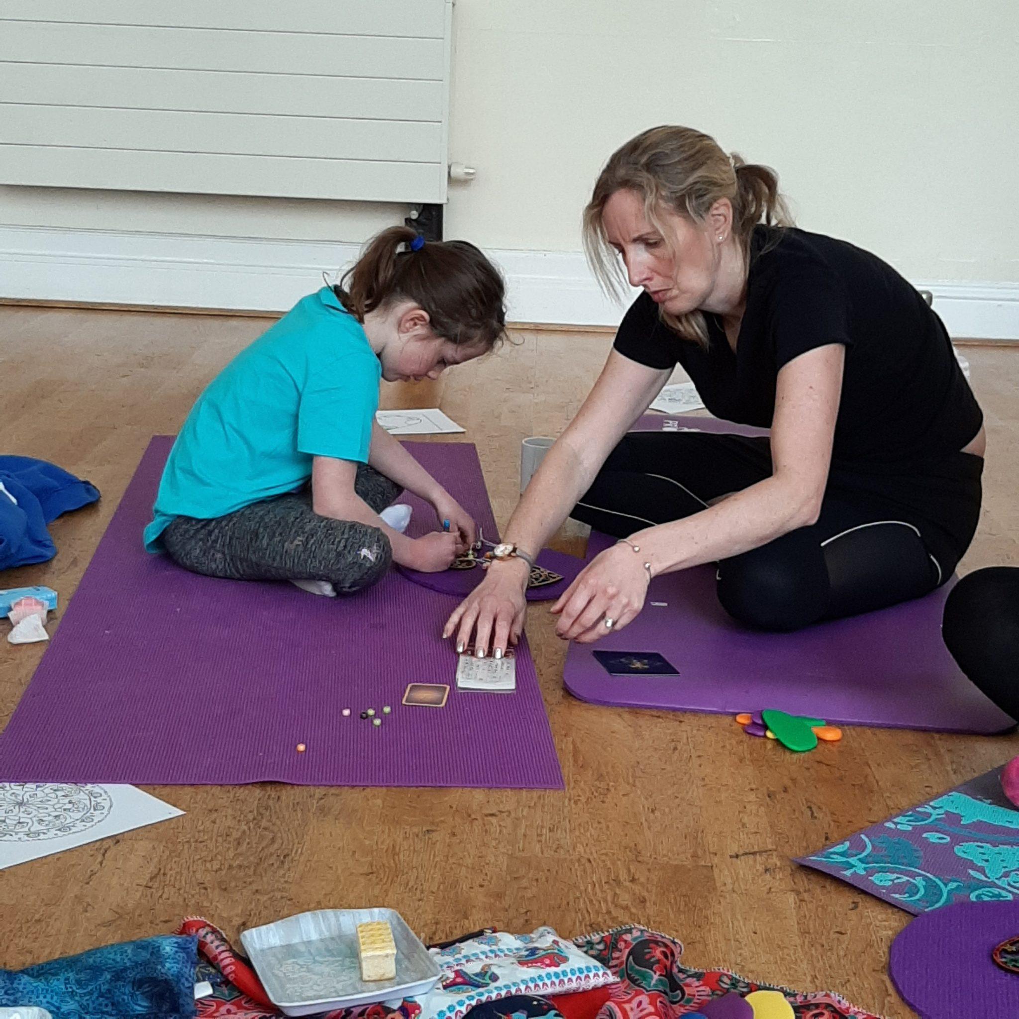YogaPebbles family yoga classes