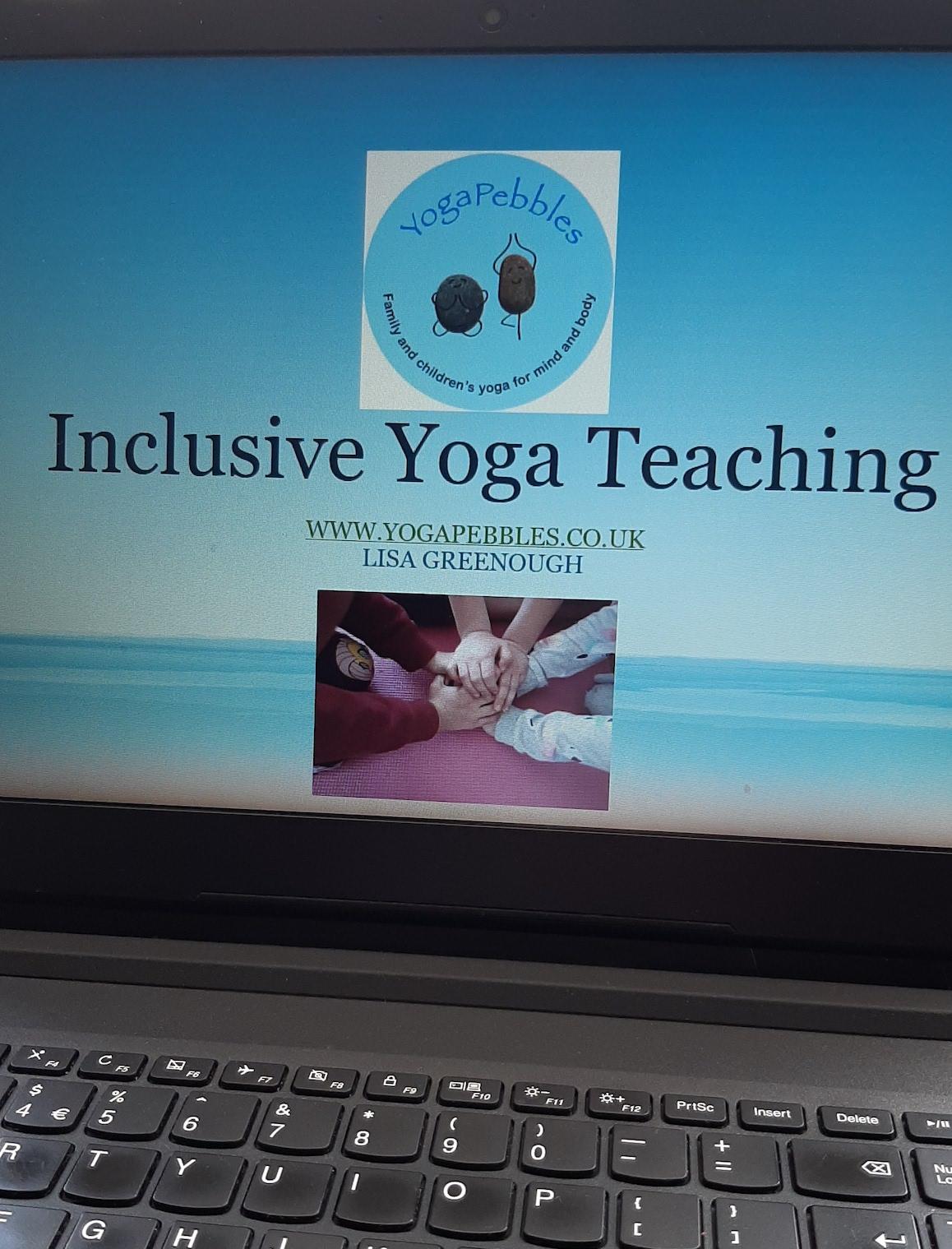 YogaPebbles inclusive yoga